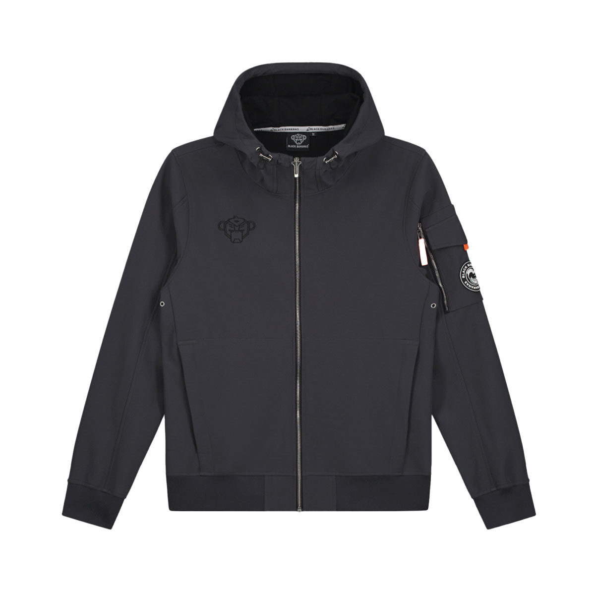 Black Bananas Seatle Softshell Jacket Grijs Heren