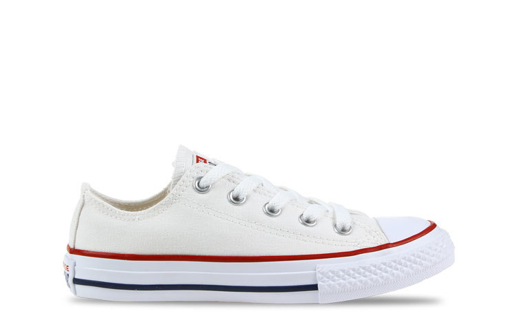 Converse All Star OX Laag Wit Kinderen