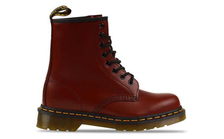 Dr Martens Original Core 1460 Donkerrood Dames