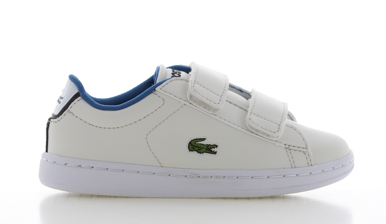 Lacoste Carnaby Evo Strap Wit Kinderen
