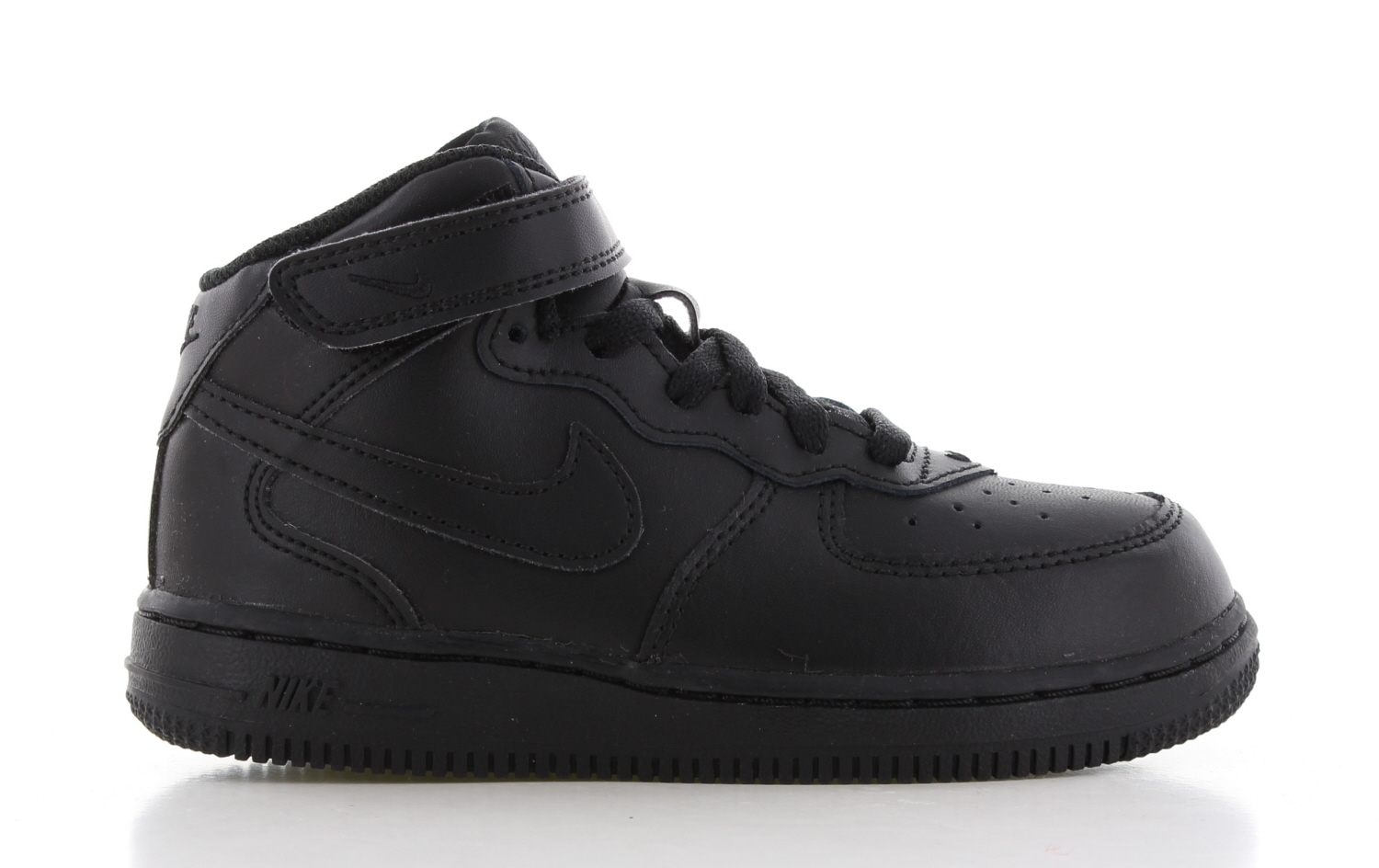 Nike Air Force 1 Mid Zwart Peuters