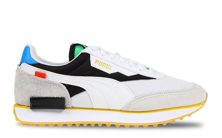 Puma Future Rider Wit/Zwart Heren