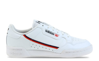 adidas Continental 80 Wit/Rood Junior