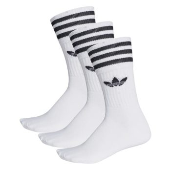adidas Solid Crew Sock Wit