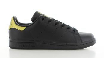 adidas Stan Smith Black-Gold GS