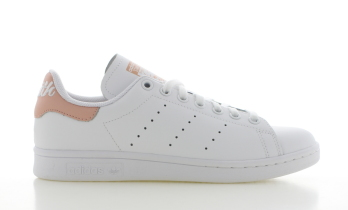 adidas Stan Smith J Wit/Roze Dames
