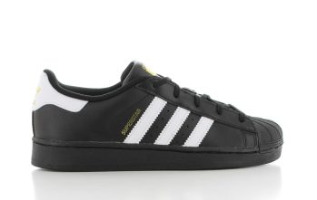adidas Superstar Black Core White KIDS