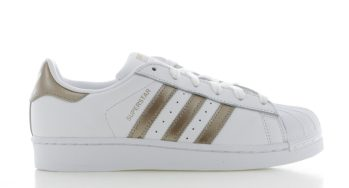 adidas Superstar Originals Wit-Goud Dames