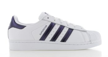 adidas Superstar Originals Wit-Paars Dames