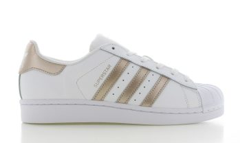 adidas Superstar White-Copper Dames