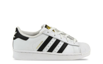 adidas Superstar White Core Black Kids
