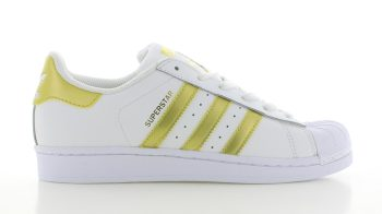 adidas Superstar White Gold GS