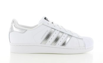 Adidas Superstar White Silver WMNS