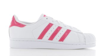 adidas Superstar Wit Roze