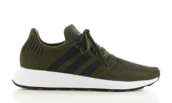 adidas Swift Run Donkergroen Heren