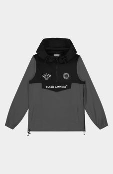 Black Bananas Windbreaker Jacket Grijs Kinderen