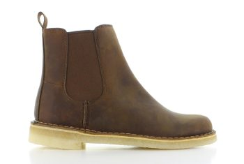 Clarks Desert Peak Leather Dames