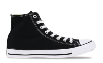 dc255b37a63 De all star high zwart heren m9160 is een iconisch model. zowel dames als  heren