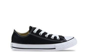 Converse All Star OX Low Black Kids