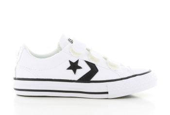 Converse Star Player White Kids
