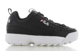 Fila Disruptor Low Zwart Dames