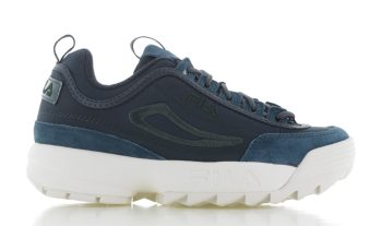 Fila Disruptor Satin Low Blauw/Turquoise Dames
