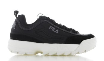 Fila Disruptor Satin Low Zwart Dames