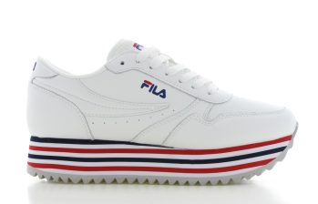 Fila Orbit Zeppa F Wit Dames