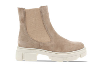 ILC Chelsea Boots Taupe Dames