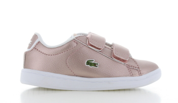 Lacoste Carnaby Evo Strap Roze Peuters