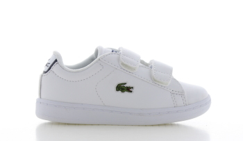 Lacoste Carnaby Evo Strap Wit Peuters