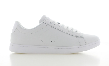 Lacoste Carnaby Evo Wit/Wit Dames