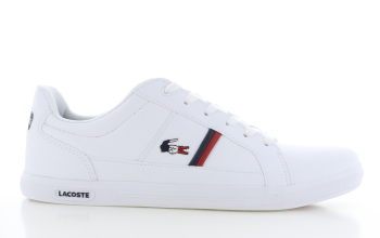 Lacoste Europa Tri Wit Heren