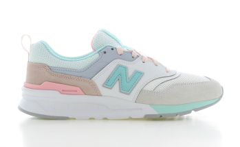 New Balance 997 Beige/Turquoise Dames