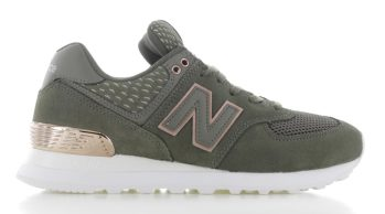 New Balance WL574 Groen/Wit Dames