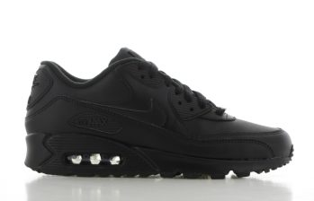 Nike Air Max' 90 Leather Zwart Heren
