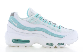 Nike Air Max 95 Dames Wit/Turquoise