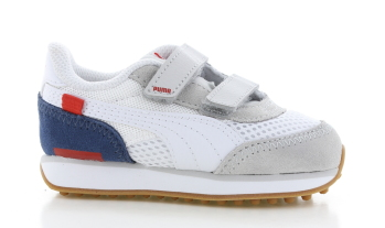 Puma Future Rider Steam On Wit/Blauw Peuters