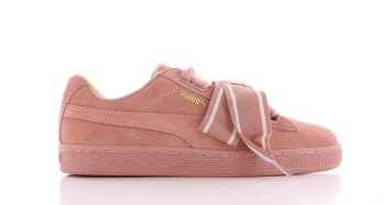 Puma Suede Heart Satin II Cameo-Brown Pink Dames