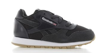 Reebok Classic Leather Estl Zwart Peuters