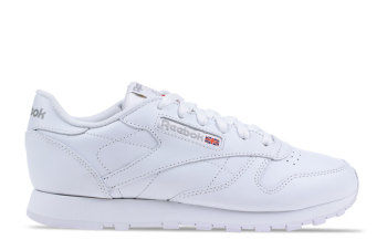 Reebok Classic Leather Wit/Wit Dames