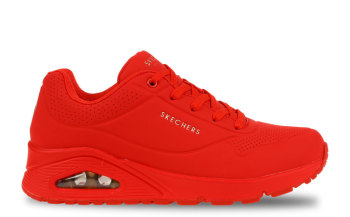 Skechers Uno Stand On Air Rood Dames