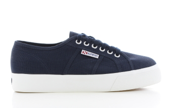 Superga Cotu Mid Sole Blauw Dames