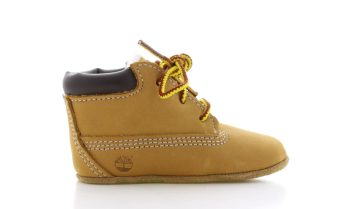 Timberland Crib Bootie Camel Baby + Muts