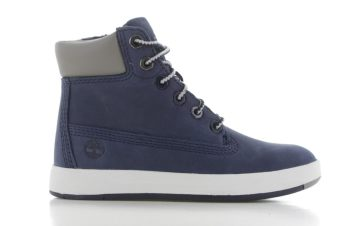 Timberland Davis Square 6 Inch Boot Blauw Peuters