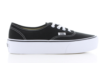 Vans Authentic Platform 2.0 Zwart Dames