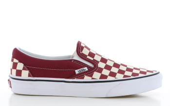 Vans Classic Slip-On Bordeaux Dames