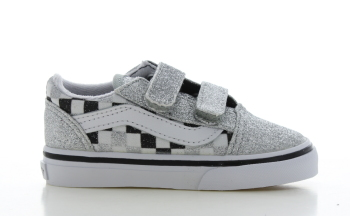 Vans Old Skool Glitter/Checkerboard Peuters