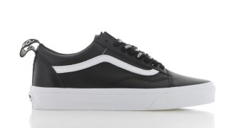 Vans Old Skool Leather Zwart Dames
