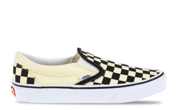 Vans Slip-On Zwart/Wit Dames